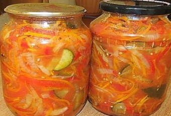 уралочка салат