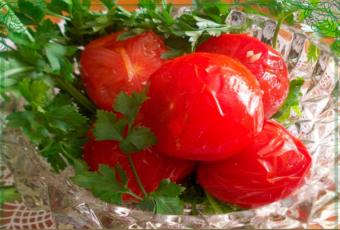 помидоры Людмила на зиму