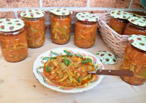 Кабачки с фасолью на зиму: рецепт, порядок приготовления, фото