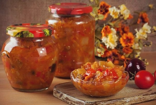 Рецепт на зиму. Овощной салат по-армянски