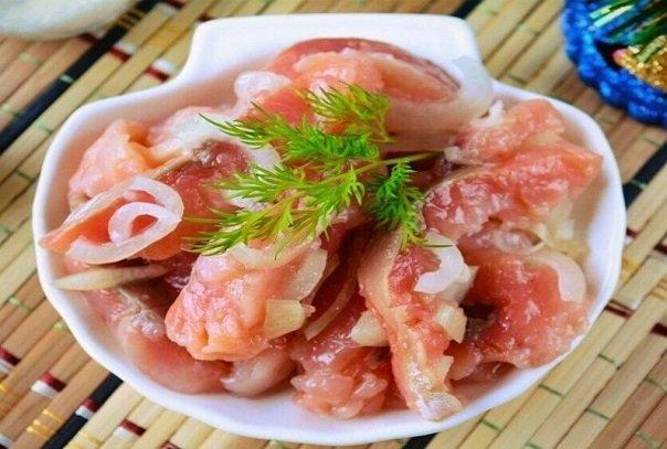 Потрясающий способ посола рыбы, которым поделилась соседка с Дальнего Востока
