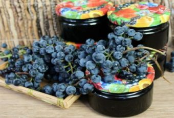 Конфитюр (варенье) из синего винограда