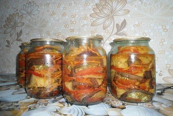 Баклажаны - бантики