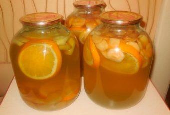 Компот из яблок, лимона и апельсина: домашняя «Фанта»
