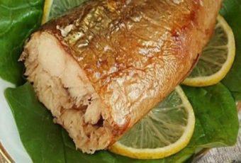 Рецепт приготовления скумбрии за 3 минуты. Вкусная золотистая рыбка без коптильни и химии!