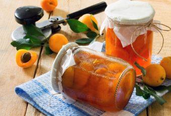 Рецепт абрикосов в сиропе на зиму без стерилизации