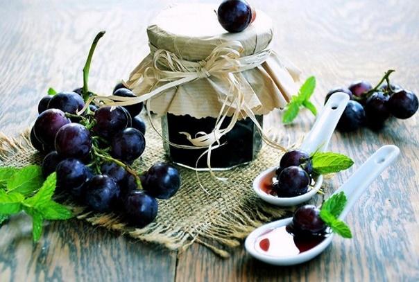 Варенье «Пятиминутка» из винограда Изабелла