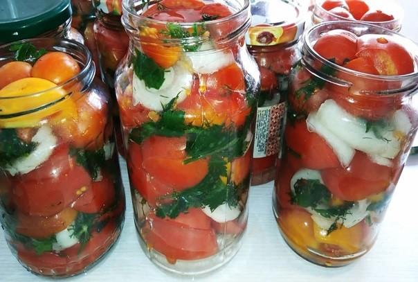 Рецепт ароматных, пряных и очень вкусных помидор