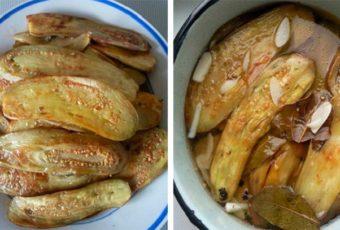 Маринованные баклажаны: вкуснятина невероятная