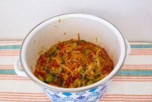 Рецепт заготовки на зиму салата «Кубанский».