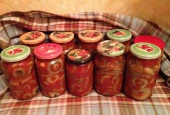 Соленые грузди в томате