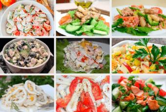 9 диетических салатов вместо ужина. Ешь вечером — всё равно похудеешь