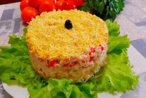 """Великолепный салат """"Загадка"""""""