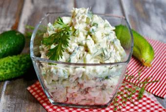 Сняли пробу в ресторане и приготовили дома: салат бесподобный