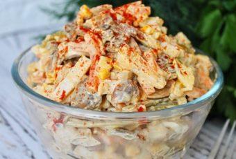 Вкусный салат «Добрая теща»