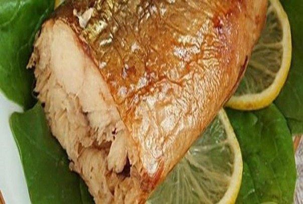 Скумбрия, на приготовление которой нужно всего 3 минуты. Золотистая и нежная рыбка без химии и коптильни!