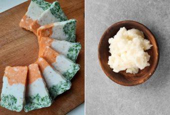Друг из Украины показал, какую закуску из сала его мама подает долгожданным гостям