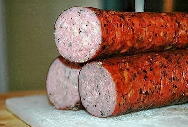 Куриная колбаска — вкуснотища!