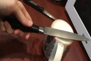 Сосед осетин научил, как точить ножи всего за 10 секунд