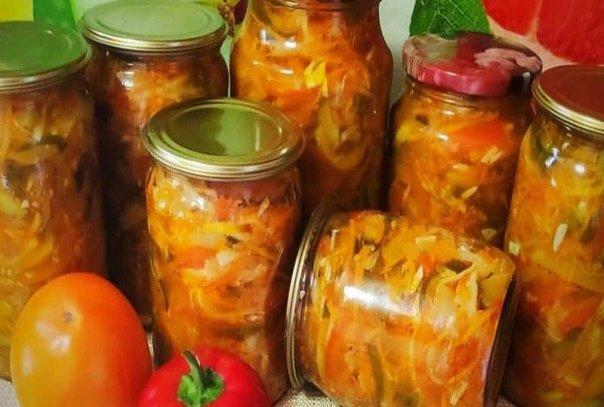 Любимейший салат на зиму «Уплетайка». Рецепту уже больше 20 лет!