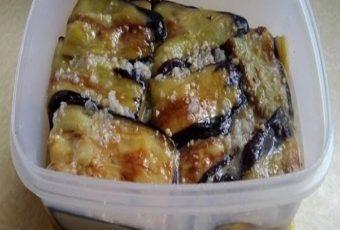 Обалденная закуска — Баклажаны с орехами и чесноком по рецепту моей бабушки, или «ЯЗЫЧКИ»