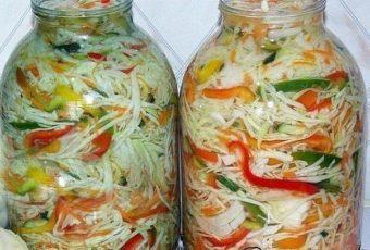 5 вкуснейших рецептов салатиков из капусты на зиму 5 вкуснейших рецептов салатиков из капусты на зиму