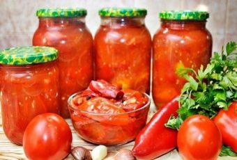 Лечо Пальчики оближешь из болгарского перца на зиму - 7 рецептов