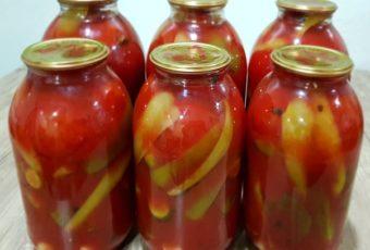 Ассорти в томатном соке на Сто Процентов! Натуральный без уксуса и сахара