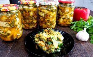 Жареные кабачки на зиму – 7 вкусных рецептов заготовок в банках