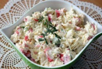 Салат «Русалочка» — вкусное сочетание! Простой и сытный салат