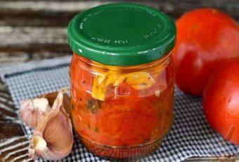 Жареные помидоры на зиму - 5 рецептов лучшей закуски на стол