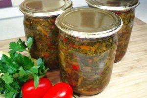 20 очень вкусных заготовок из болгарского перца на зиму