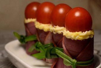 Помидоры в тулупе - рецепт закуски с фото пошагово