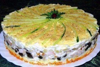 Салат-торт №1 в мире