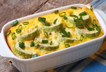 Вкуснейшая запеканка из кабачков с сыром