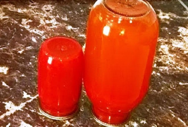 Томатный сок как в детстве. Густая домашняя томатная паста: томат на зиму, заготовки из помидоров