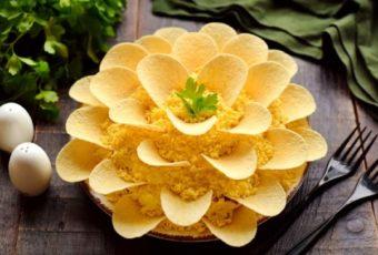 Салат «Хризантема»: первым сметут со стола