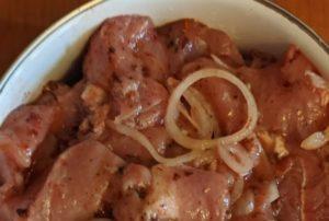 Узбек посоветовал замариновать мясо по его рецепту. Теперь делаю только так