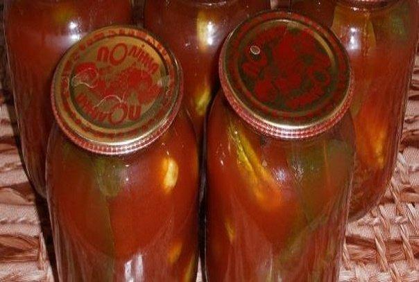 Огурцы — 5 Килограмм Помидоры — 2 Килограмма Чеснок — 1 Штука Сладкий перец — 4 Штуки . Для самых вкусных огурцов в томате на зиму