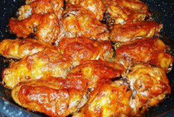 Едят как семечки! Блюдо моей молодости: нежные вкусные куриные крылышки